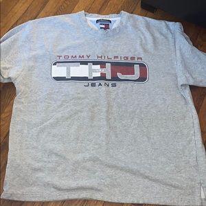 Tommy Hilfiger Jeans sweatshirt grey XL USA Vintag